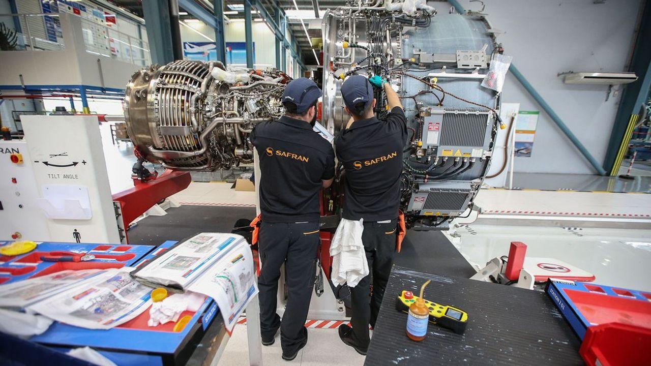 Face à une chute brutale de son activité, Safran mise sur le chômage partiel de 6.000 salariés pendant deux ans pour éviter au maximum les licenciements en France.