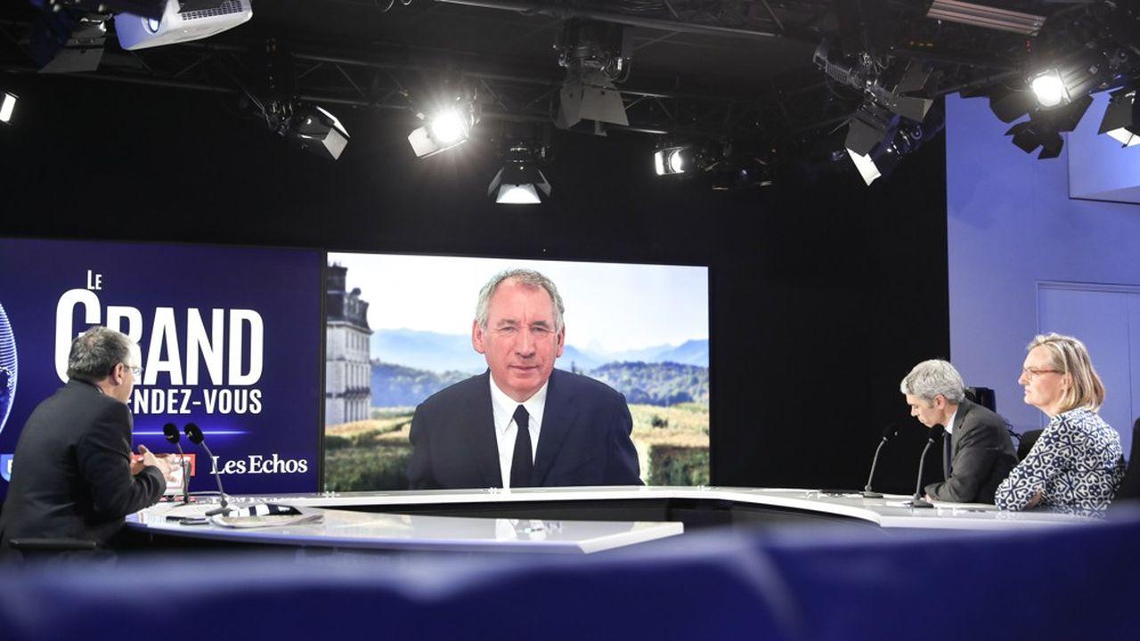 En duplex de sa vile de Pau, François Bayrou était l'invité ce dimanche du Grand-Rendez-vous d'Europe 1, en partenariat avec CNews et «Les Echos».