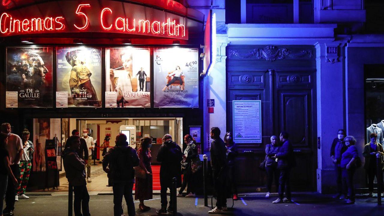Les cinémas sont restés fermés plus de trois mois à cause du coronavirus.