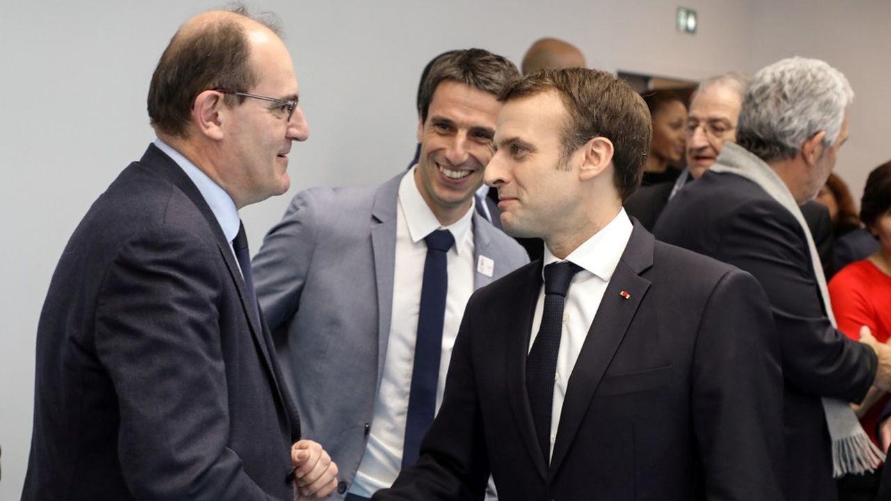 Emmanuel Macorn s'adressera aux Français le 14juillet, quelques jours avant le discours de politique générale de son nouveau Premier ministre, Jean Castex (ci-dessus en janvier 2019).