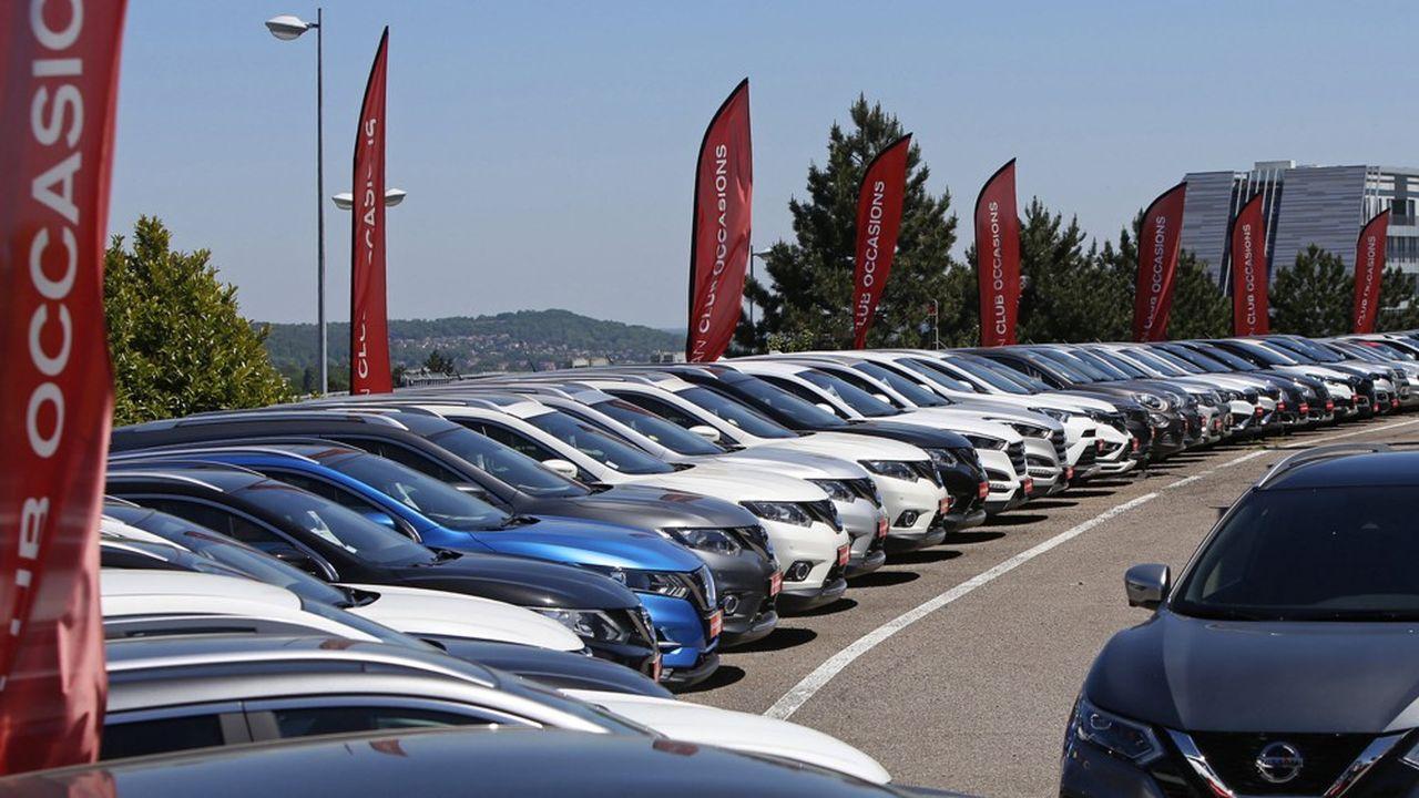 585.744 immatriculations de voitures d'occasion ont été recensées le mois dernier en France, «soit un niveau jamais atteint sur ce marché», selon le site spécialisé AS 24.