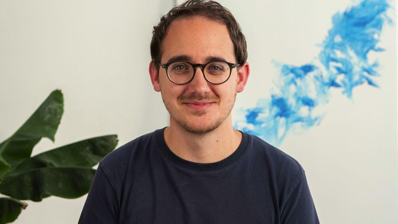 Clément Goehrs, président et cofondateur de la jeune entreprise Synapse Medicine.