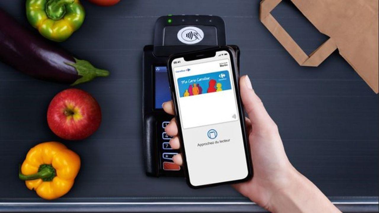 Le wallet d'Apple peut désormais intégrer la carte de fidélité de Carrefour