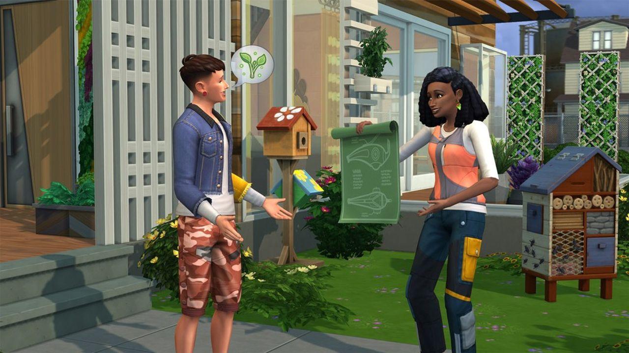 Les Sims voient la vie en vert