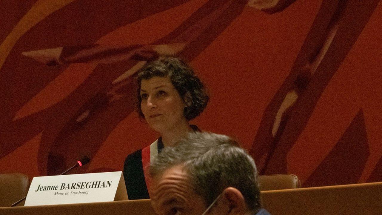 Jeanne Barseghian a été élue maire de Strasbourg le 4 juillet.