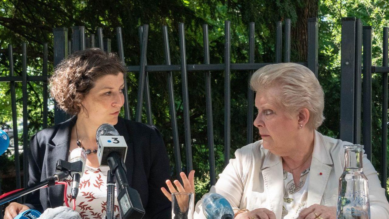 Les deux femmes n'étaient pas parvenues à s'entendre et à former une alliance entre les deux tours des élections municipales.