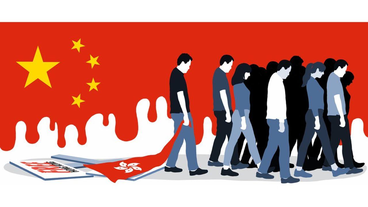 Hong Kong, 1erjuillet 2020. Reuters/Tyrone Siu TPX