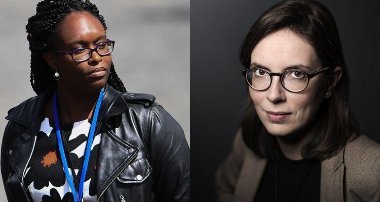 Sibeth Ndiaye et Amélie de Montchalin.