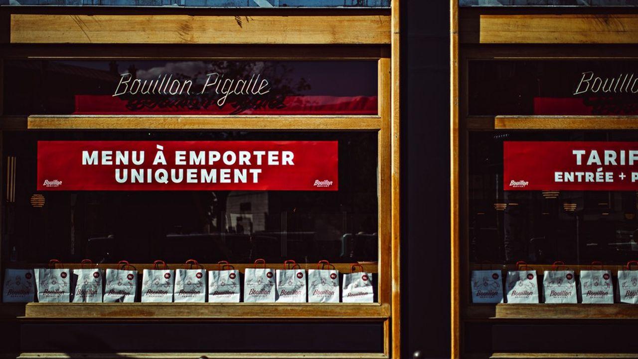 Bouillon Pigalle pratique le «click & collect» à la fois au restaurant et dans un camion dédié.
