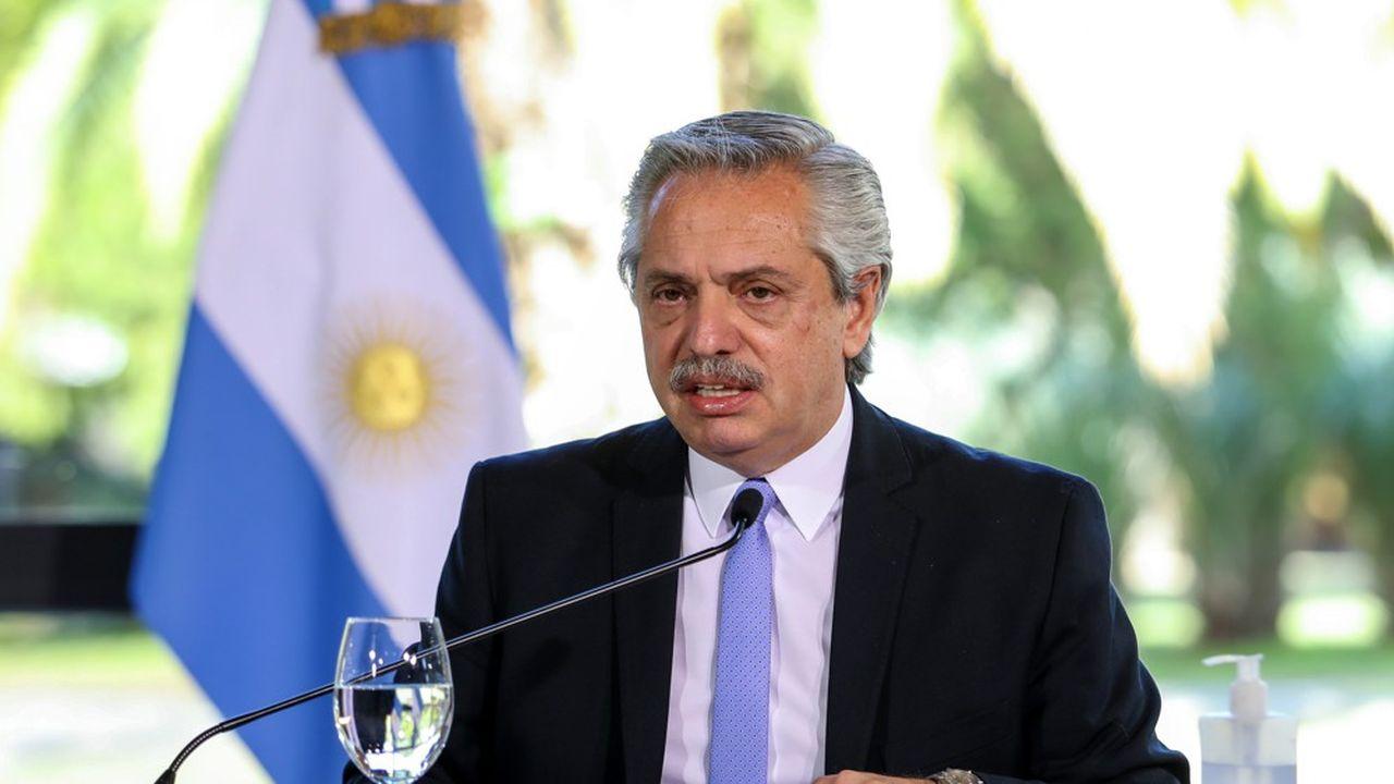 « C'est un effort énorme que nous faisons. Le plus gros effort que nous puissions faire», a déclaré le président Alberto Fernández à propos de l'offre faite par l'Argentine à ses créanciers.