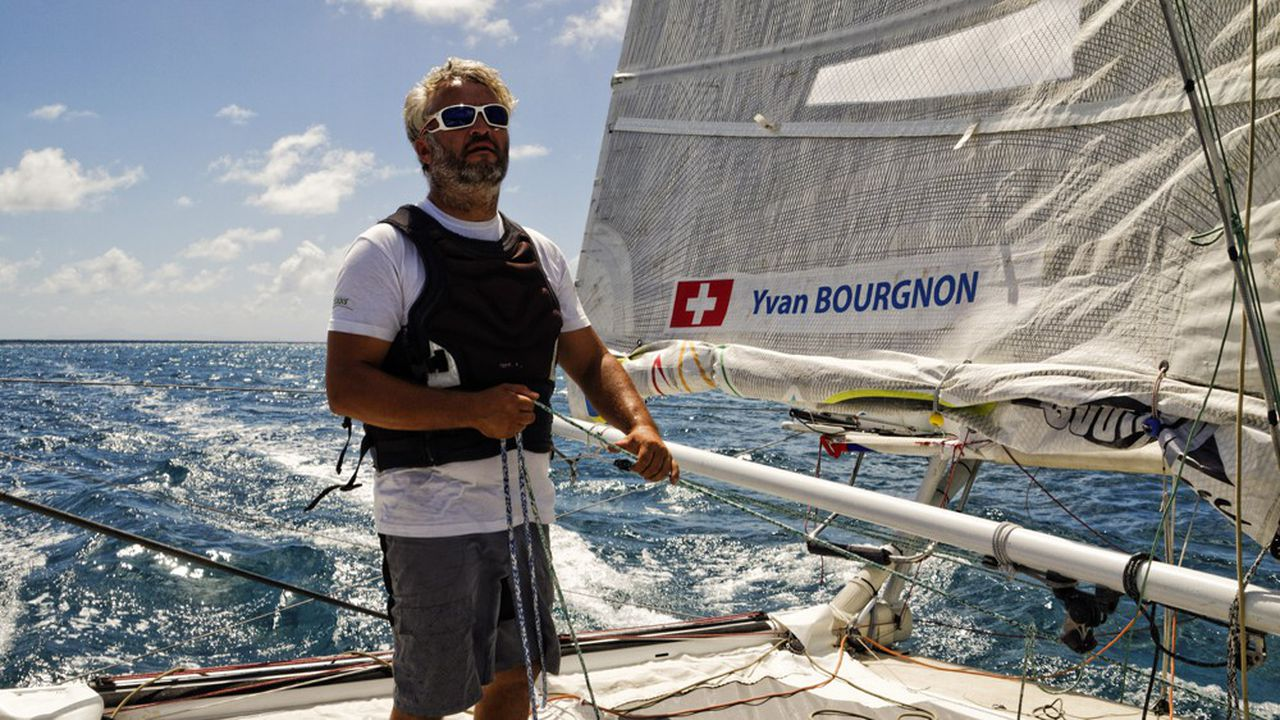 Le navigateur Yvan Bourgnon s'est lancé dans la construction d'un bateau « nettoyeur » des macro-plastiques.