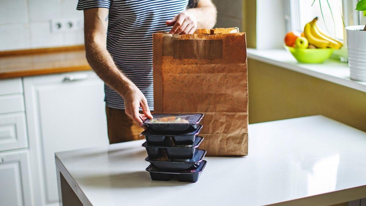 Les acteurs de la livraison de repas doivent rendre une feuille de route d'ici début octobre sur leur stratégie pour viser le zéro déchet.