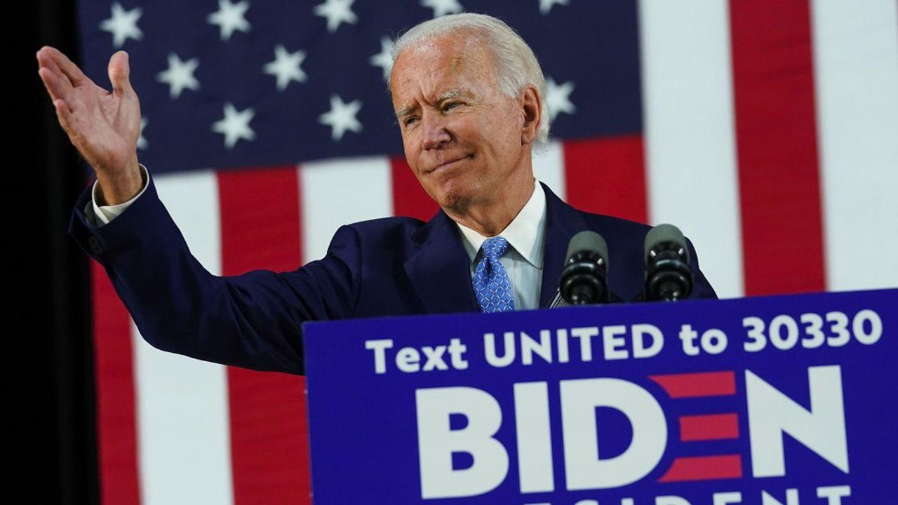 Les marchés et sondages parient sur une victoire de Joe Biden à l'élection présidentielle de novembre