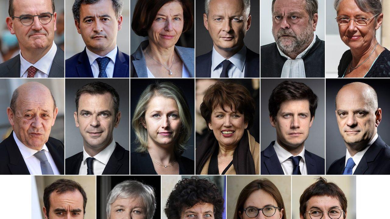 Le gouvernement Jean Castex