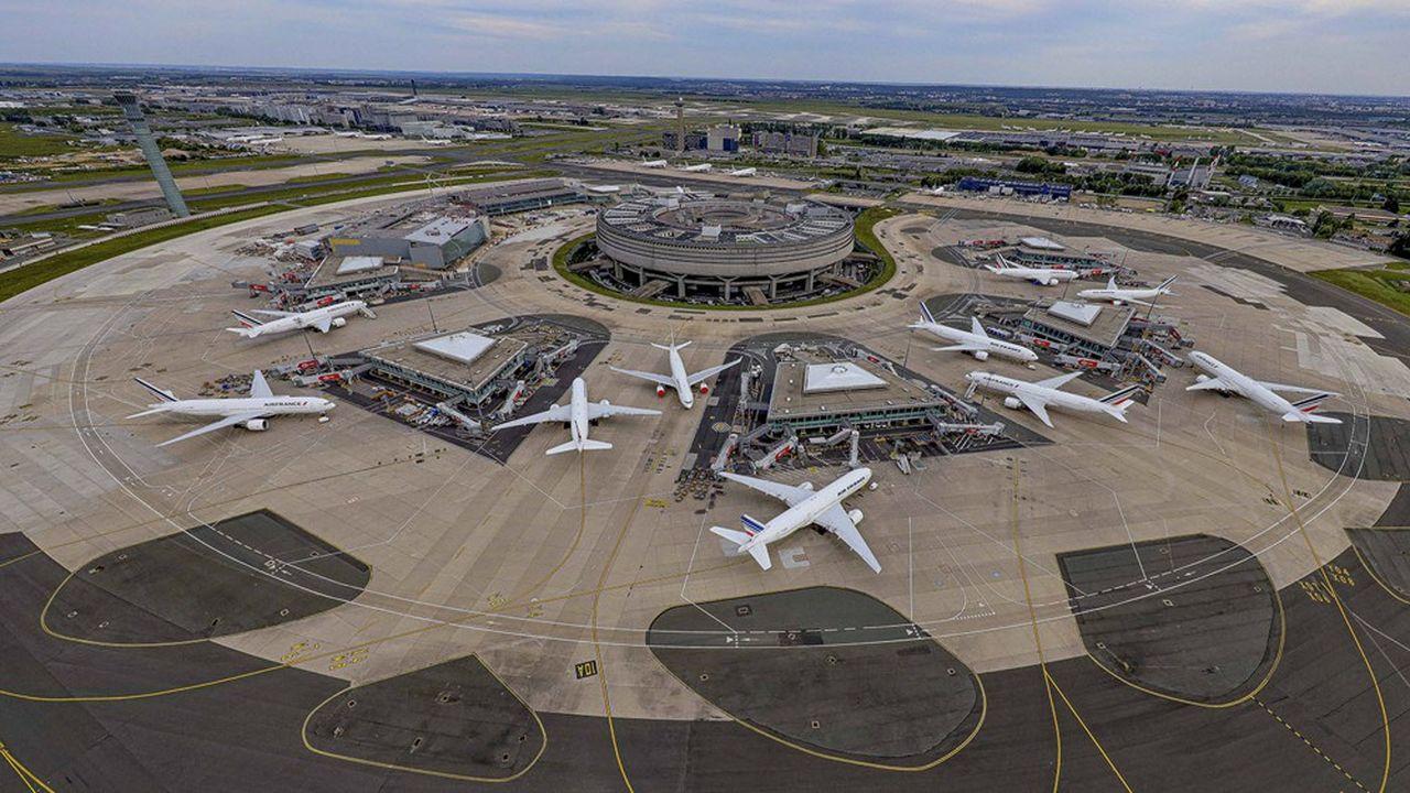 Au terminal 1 de l'aéroport Paris-Charles de Gaulle.