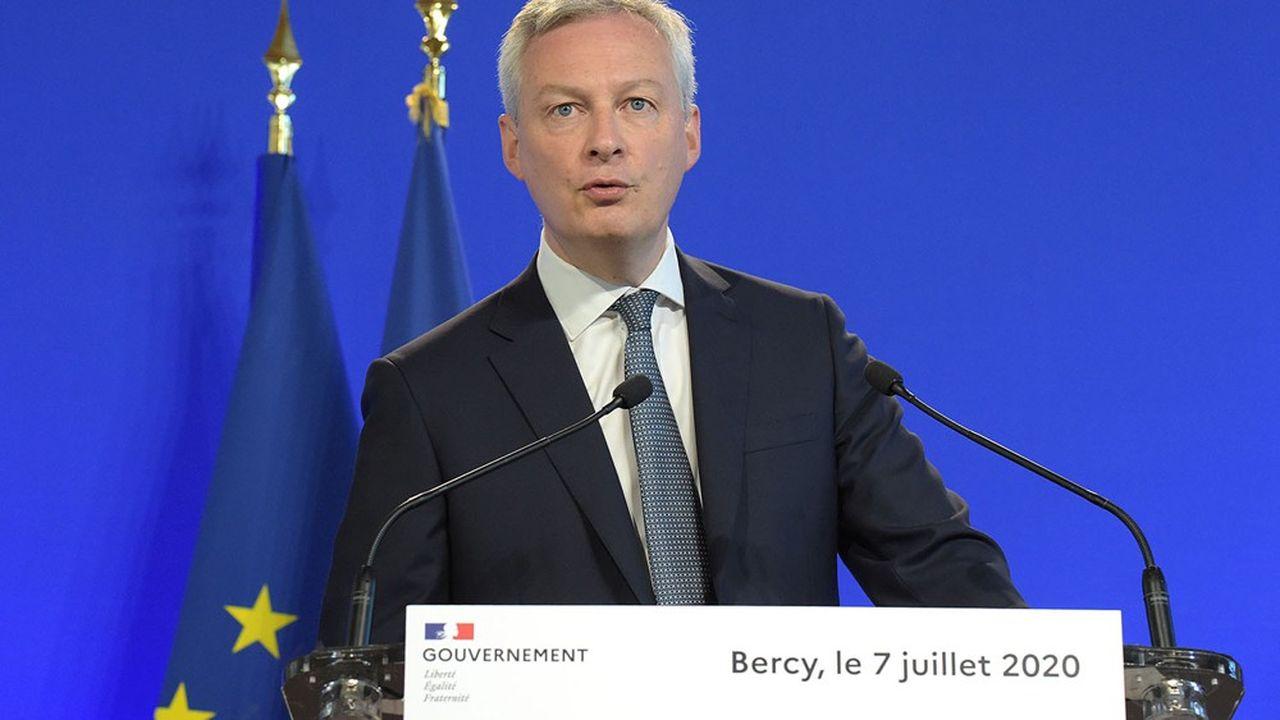 Bruno Le Maire estime désormais avoir «une capacité d'action beaucoup plus rapide» à la tête d'un grand Bercy.