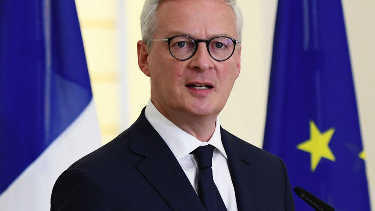 Bruno Le Maire, ministre de l'Economie, des Finances et de la Relance.