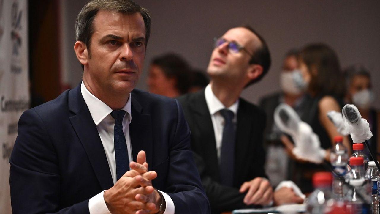 Olivier Véran, le ministre de la Santé, en mai2020.