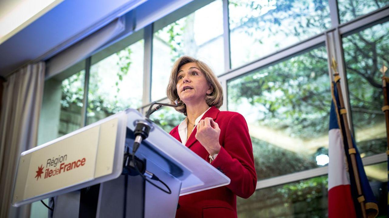 Valérie Pécresse a plusieurs fois interpellé l'Etat, ces dernières semaines, sur les difficultés financières d'Ile-de-France Mobilités