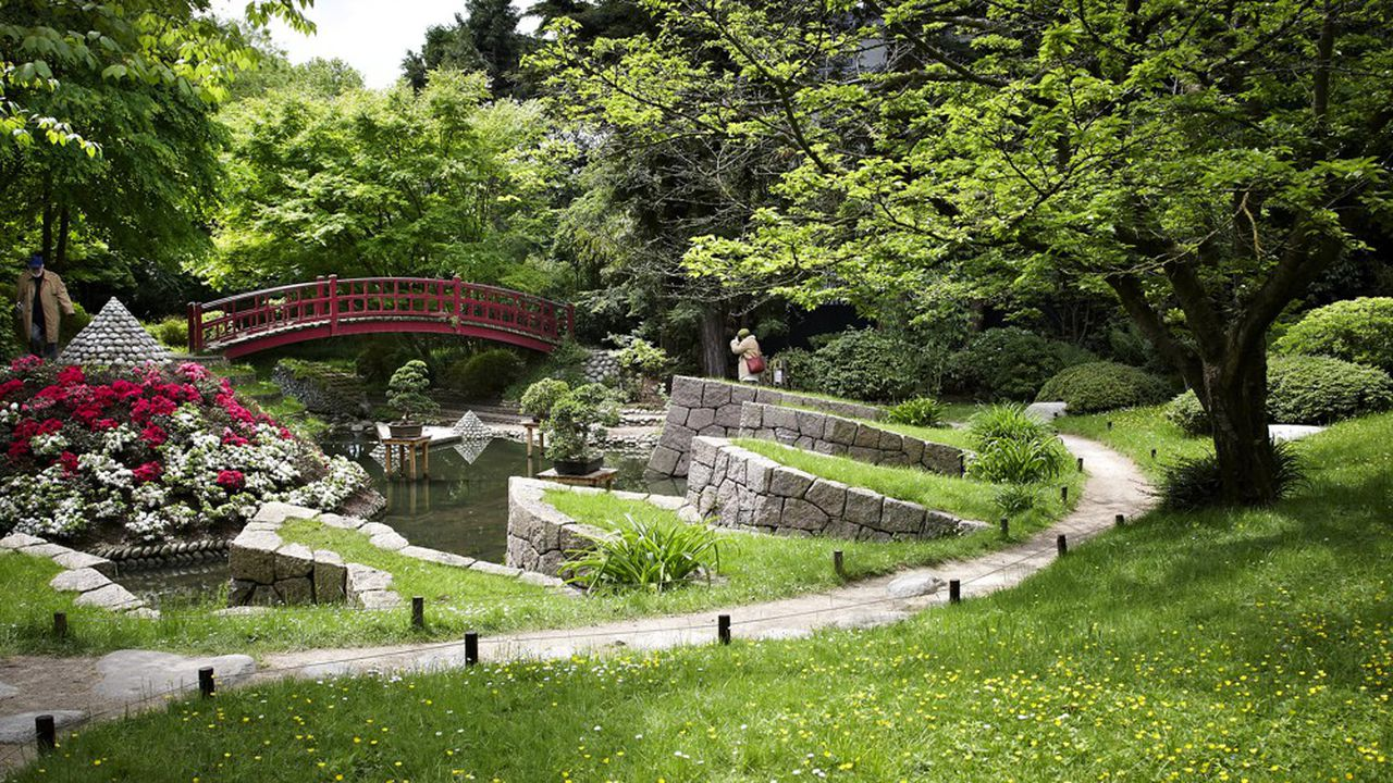 Le jardin japonais contemporain du musée Albert Kahn à Boulogne-Billancourt pourrait accueillir davantage de visiteurs grâce au Pass Malin.