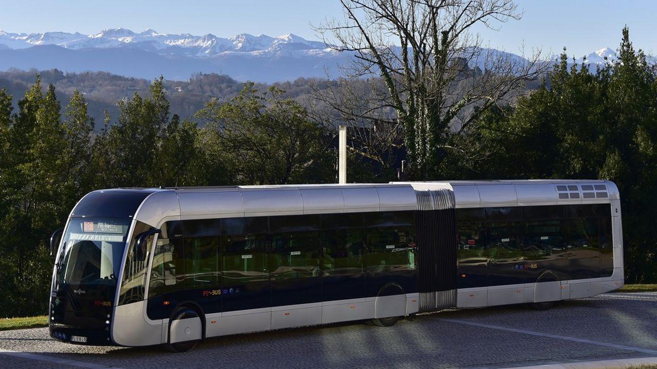 Des bus à hydrogène circulent déjà à Pau, dans les Pyrénées Atlantiques.
