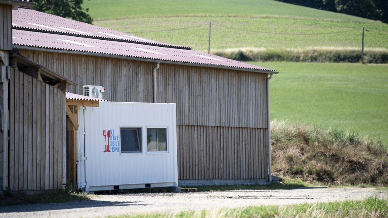 La yaourterie «Né d'une seule ferme» de Longes, dans le Rhône.