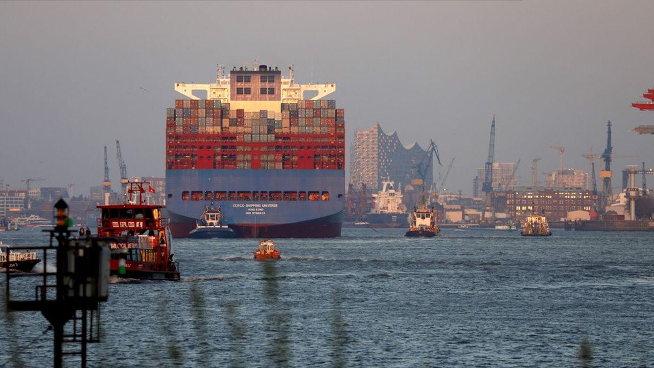 En mai, les exportations allemandes ont progressé plus vite que les importations, contrairement à la France où les achats tirent la reprise des échanges