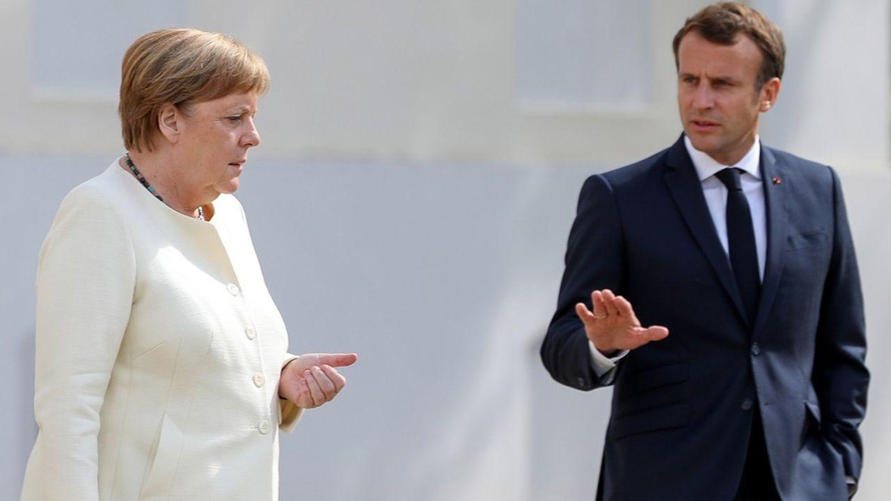 Le président français Emmanuel Macron n'a pas réussi à convaincre la chancelière Angela Merkel de renoncer au rabais sur le budget européen dont profite l'Allemagne.