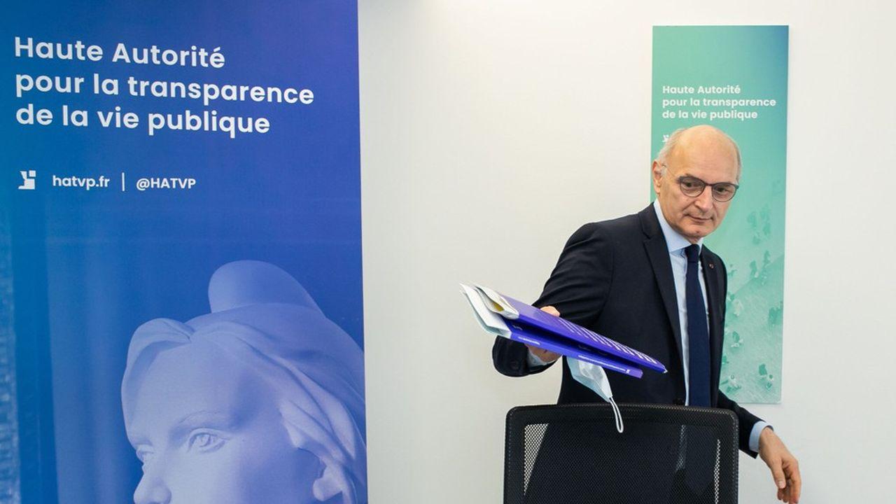 Didier Migaud a succédé à Jean-Louis Nadal à la tête de la Haute Autorité fin janvier.