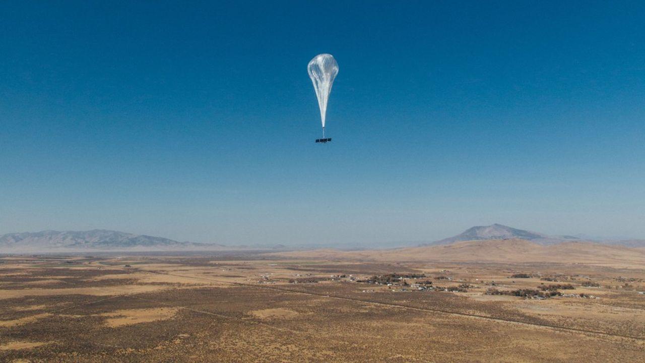 Les ballons de Loon couvrent en permanence une zone particulièrement isolée de 80.000 kilomètres