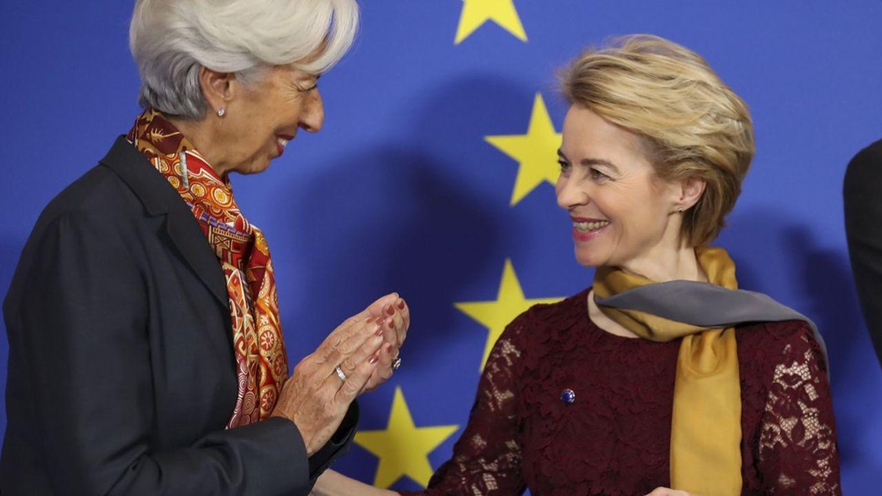 Avec Christine Lagarde et Ursula von der Leyen, deux femmes occupent des postes de premier plan dans l'architecture européenne.