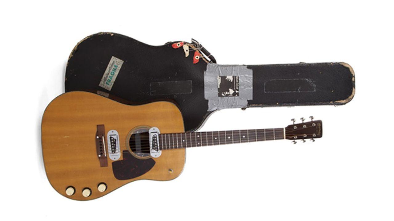 La guitare de Kurt Cobain pour l'« Unplugged »