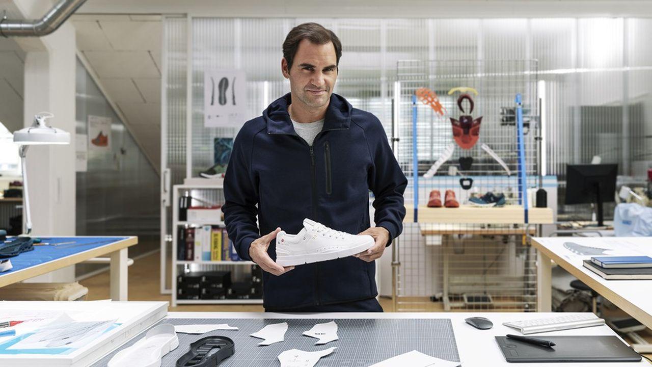 Roger Federer : légende au pied