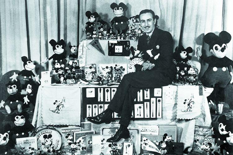 Walt Disney au début des années 30