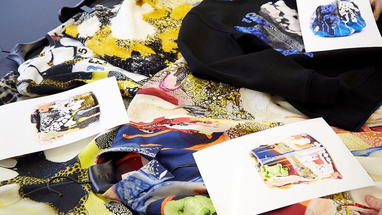 Le directeur artistique de Berluti, Kris Van Assche, élabore sa collection été 2021 présentée le 9 juillet.