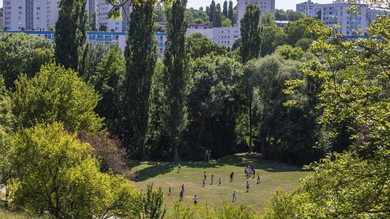 Le parc du Morbras, à Sucy-en-Brie,est l'un des 16 espaces qui fera l'objet d'aménagements votés par les habitants.