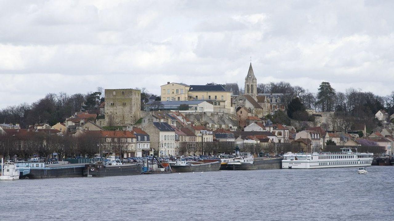 La communauté urbaine GPS&O rassemble 73 communes, dont Conflans-Sainte-Honorine et 408.000 habitants.