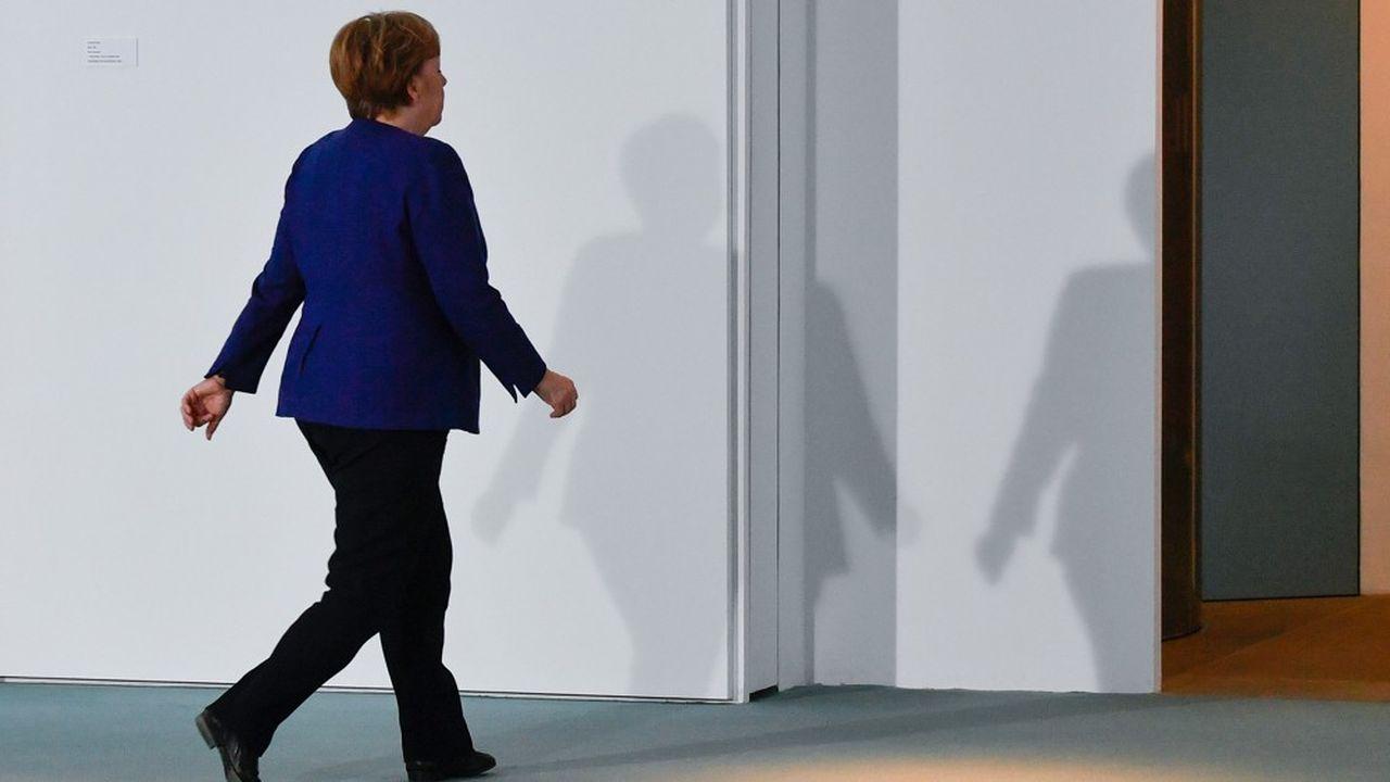 Angela Merkel a confirmé qu'elle ne briguerait pas de 5emandat à la tête du pays.