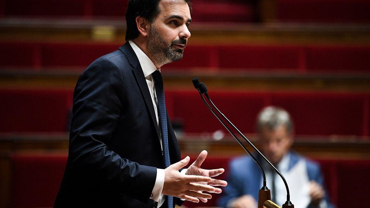 Laurent Saint-Martin (LREM), rapporteur général du Budget à l'Assemblée nationale, avait soutenu une aide supplémentaire apportée à Ile-de-France Mobilités.