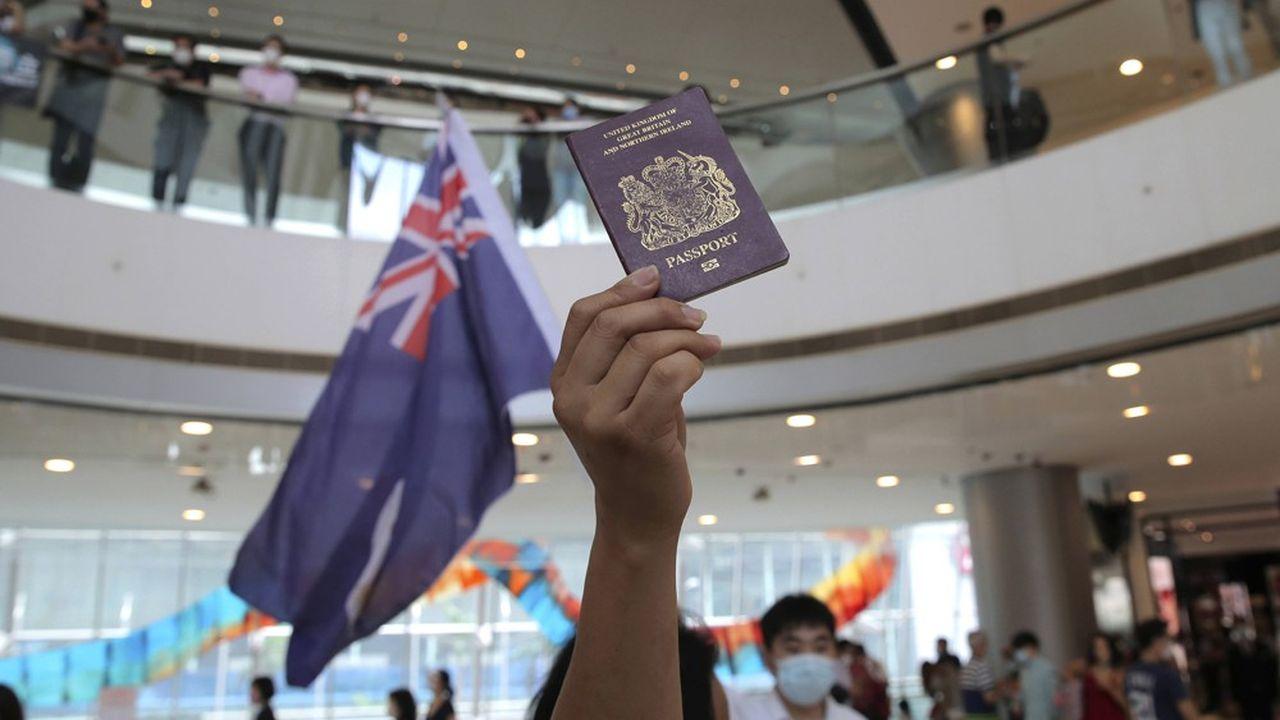 «Le Royaume-Uni s'est dit prêt à accueillir plus de 3 millions de Chinois de Hong Kong : tous ceux qui peuvent prétendre à la citoyenneté britannique»