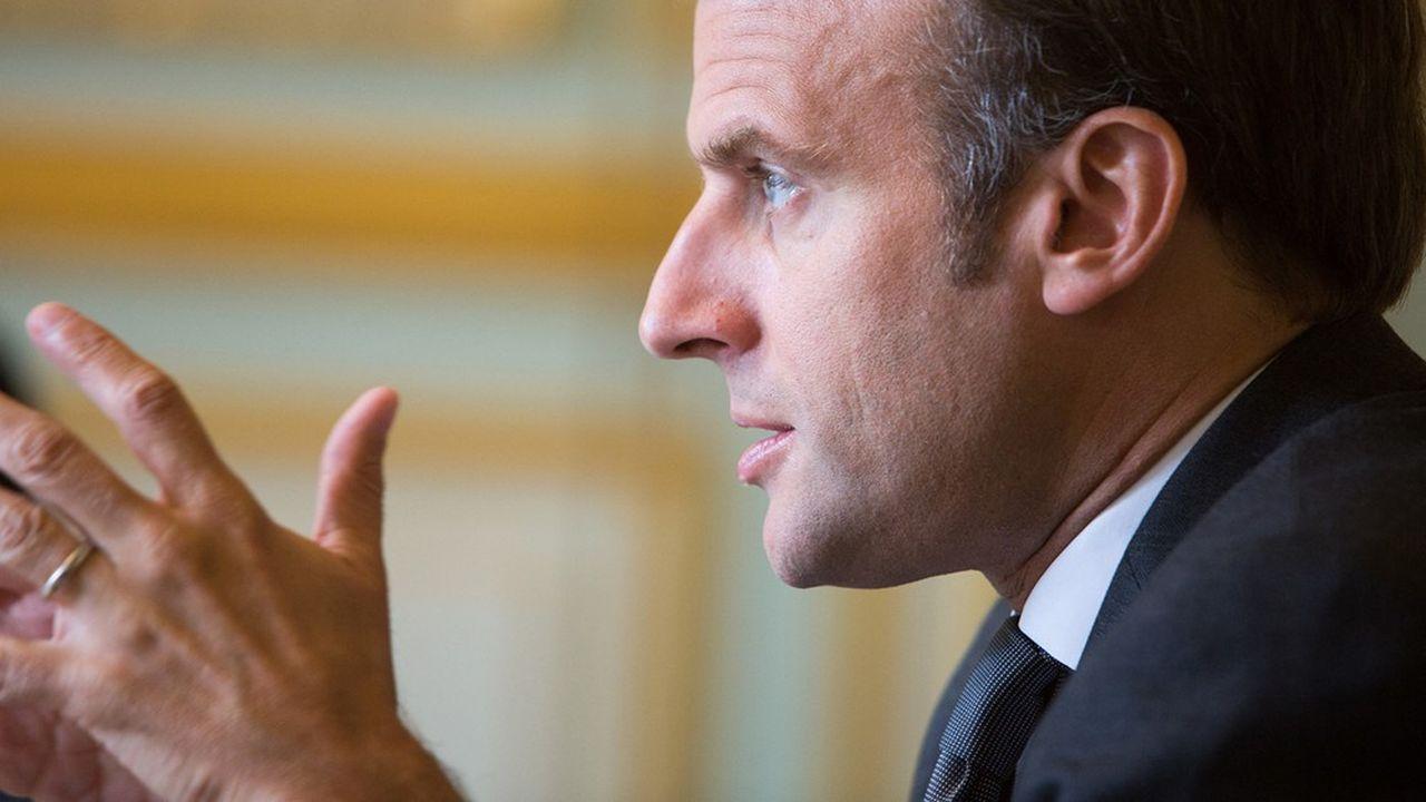 Le président de la République va renouer avec la traditionnelle interview du 14juillet. Il doit notamment annoncer le plan pour l'emploi des jeunes.