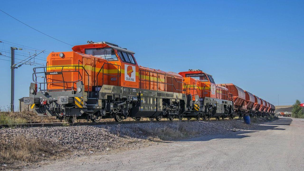 Avec cette nouvelle acquisition, Millet affirme devenir le deuxième opérateur privé de traction de fret ferroviaire.