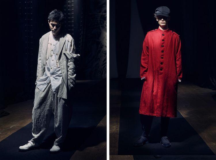 Yohji Yamamoto entre ombre et lumière