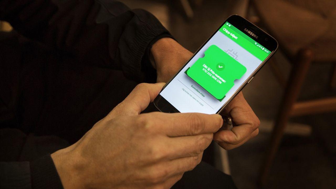 L'application Swish, lancée par les banques du pays en 2012, a été un coup dur pour le cash dans le pays nordique, où les habitants l'ont naturellement adopté.