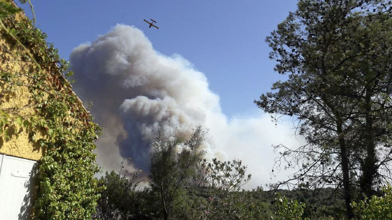 Le 2août, un violent incendie a ravagé le territoire.