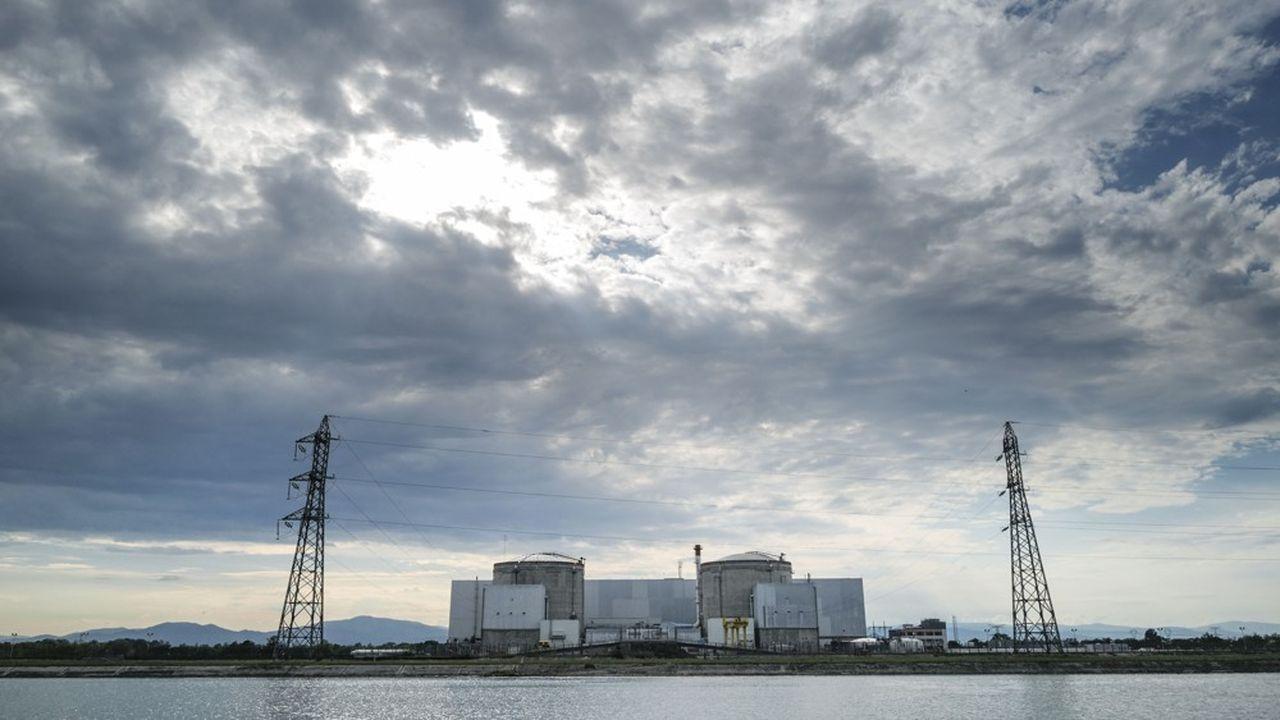 La centrale nucléaire de Fessnheim, dans le Haut-Rhin, est fermée depuis le 30juin.