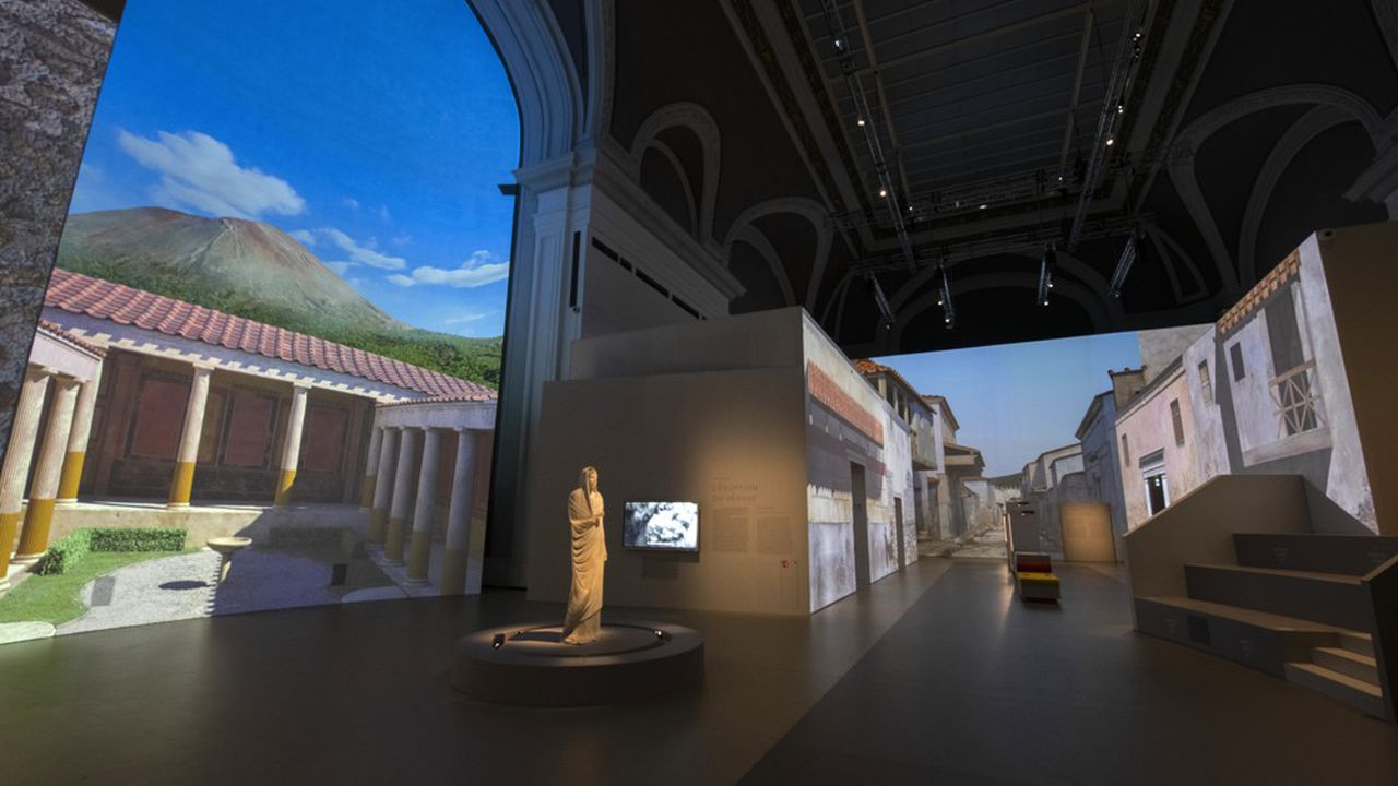 L'exposition Pompéi espère attirer 200.000 visiteurs.