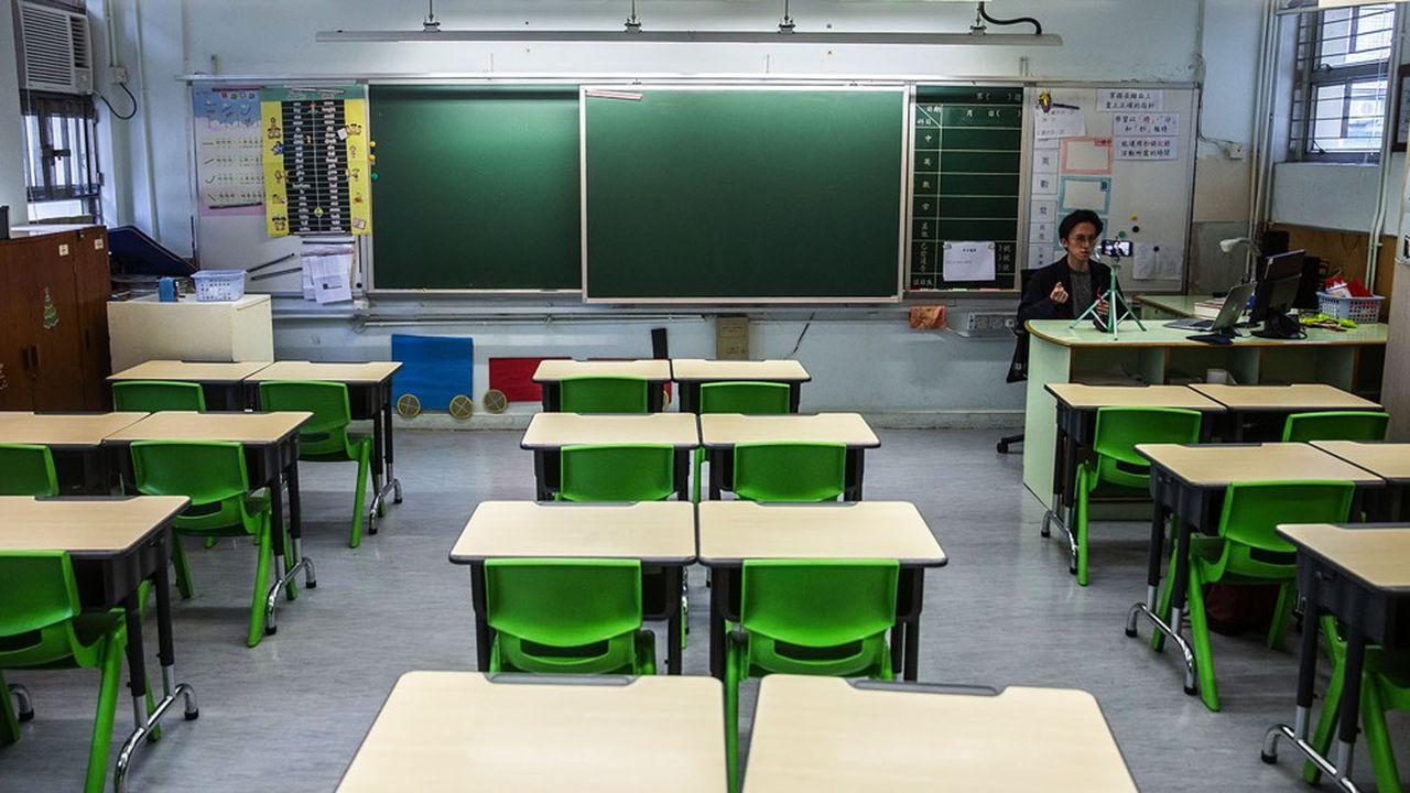 A quelques jours des vacances d'été, les écoles de Hong Kong ont de nouveau fermé leurs portes.