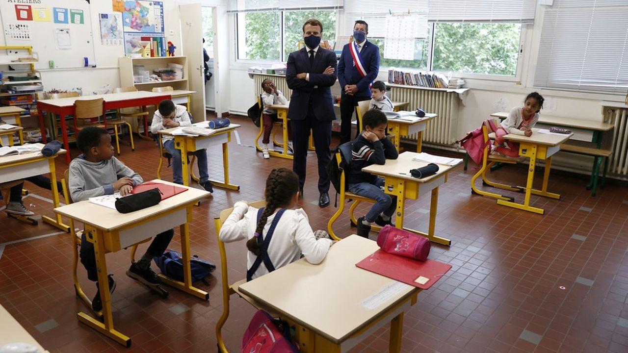 Emmanuel Macron veut un grand programme de rénovation thermique des bâtiments publics, à commencer par les écoles et les Ehpad.