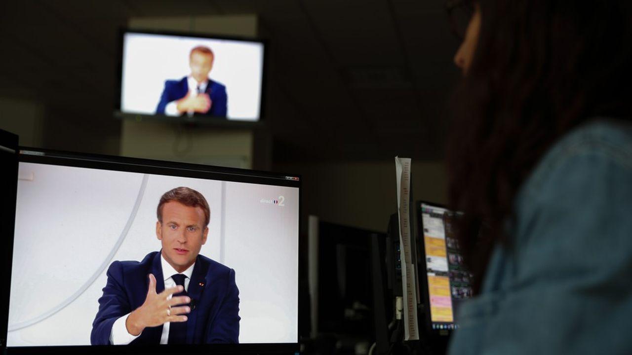 Pour Emmanuel Macron, «on ne résout pas une crise comme celle-ci en augmentant les impôts».